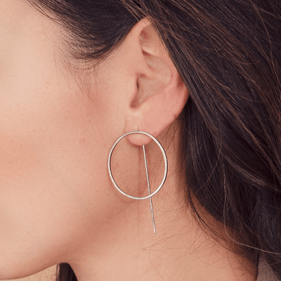 Rome Earrings - Silver