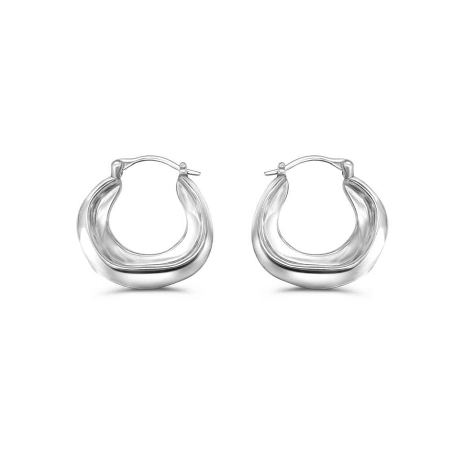 Picasso Hoops - Silver