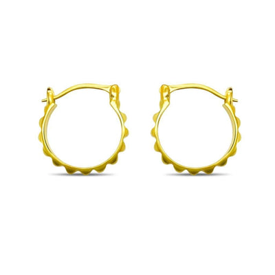 Jupiter Small Hoops - Gold