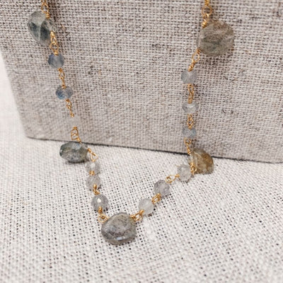Milos Labradorite Necklace