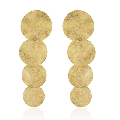 Apollo Statement Earrings - Gold