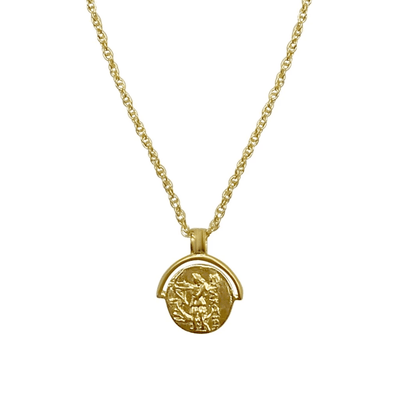 Artemis Coin Necklace - Gold