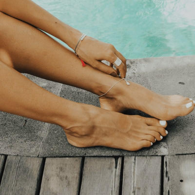 Ipanema Beach Anklet - Silver