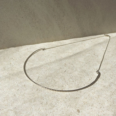 Melbourne Necklace Choker - Silver