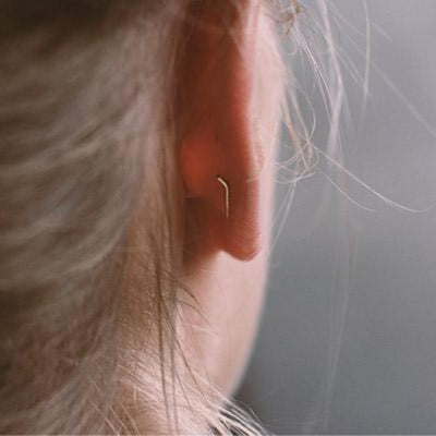 Morocco Ear Climbers - Gold