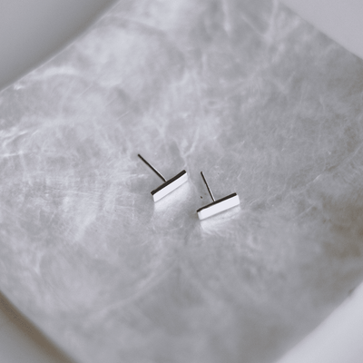 Oslo Stud Earrings - 925 Sterling Silver