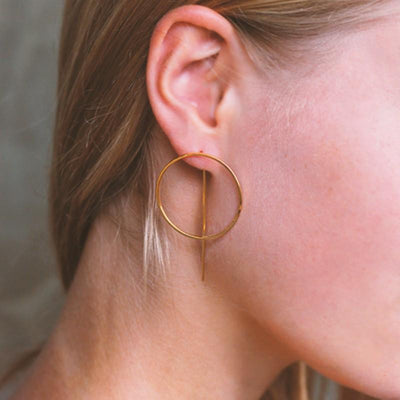 Rome Earrings - Gold