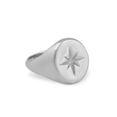 Zeus Star Ring - Silver