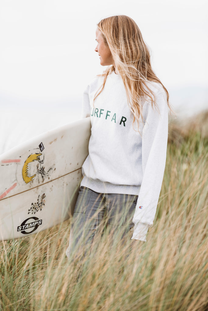 Surf Far Wave Logo x Champion® Sweatshirt