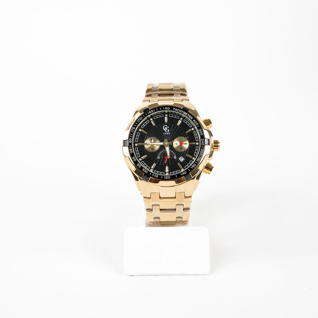Montre Homme GG Luxe Or - Sleetch.com