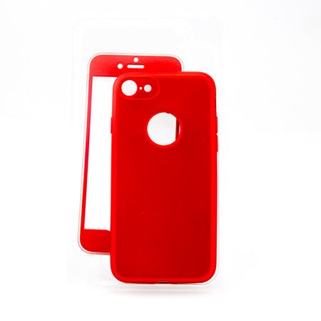 Coque rouge pour iPhone 7 ; 7+ ; 8 ; 8+ ; X - Sleetch.com
