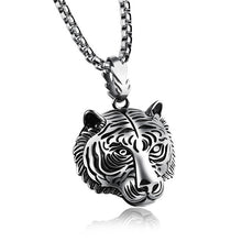 Exceptional Gold Plated Tiger Necklace