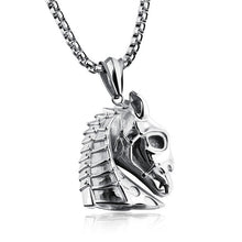 Exclusive Men's Dark Horse Necklace