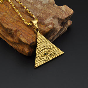 Gold Egyptian Pyramid