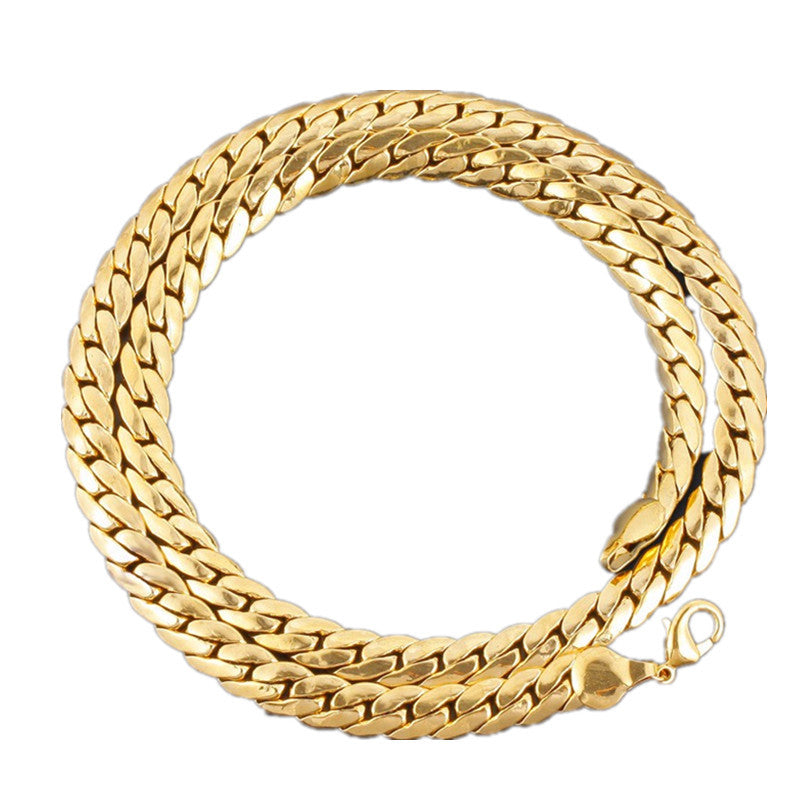 Exceptional 18K Gold Link Chain