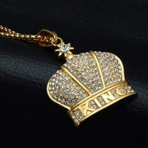 Crown The King Necklace
