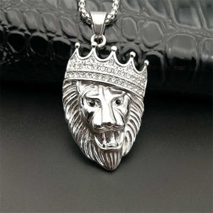 Big Lion Head Box Chain