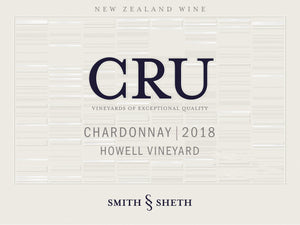 2018 CRU Howell Vineyard Chardonnay