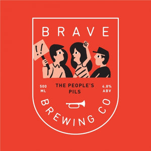 Brave Brewing Peoples' Pils