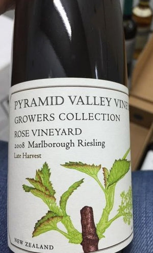 2008 PV Late Harvest Riesling