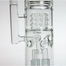 "19"" Bong With Triple Matrix Percs And 9-Prong Ice Catcher"