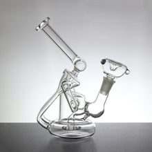 "8"" Multi-Chamber Recycler Bong with Shower Head Percolator - Lazy Panda"
