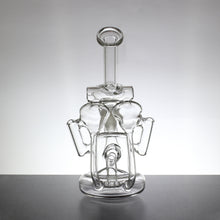 "8"" Multi-Chamber Recycler Bong with Shower Head Percolator (LP-004) - Lazy Panda"