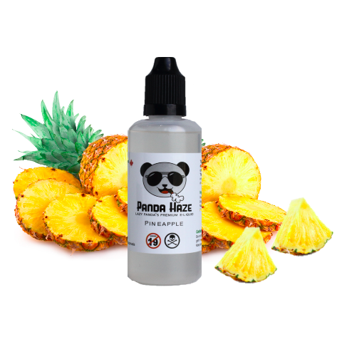Pineapple Express Panda Haze E-Liquid - Lazy Panda