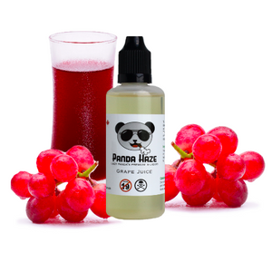 Grape Juice Panda Haze E-Liquid - Lazy Panda
