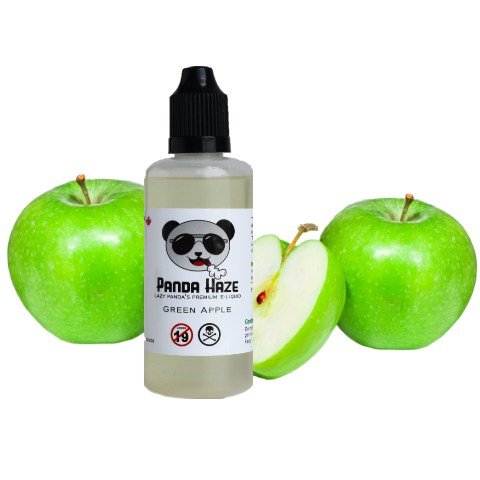 Green Apple Panda Haze E-Liquid - Lazy Panda
