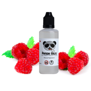 Raspberry Panda Haze E-Liquid - Lazy Panda