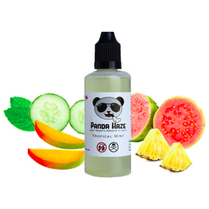 Tropical Mint Panda Haze E-Liquid - Lazy Panda