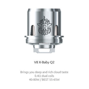 SMOK TFV8 X-Baby Q2 Coil - Pack Of 3