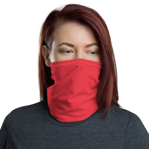 Neck Gaiter Red.