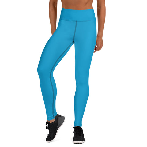 Yoga Leggings Cloud Blue.