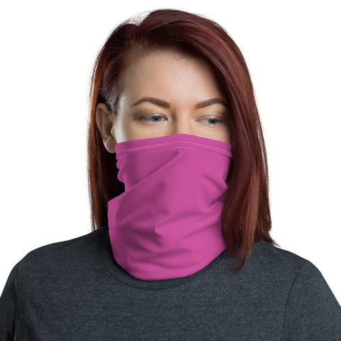 Neck Gaiter Radiant Rose.