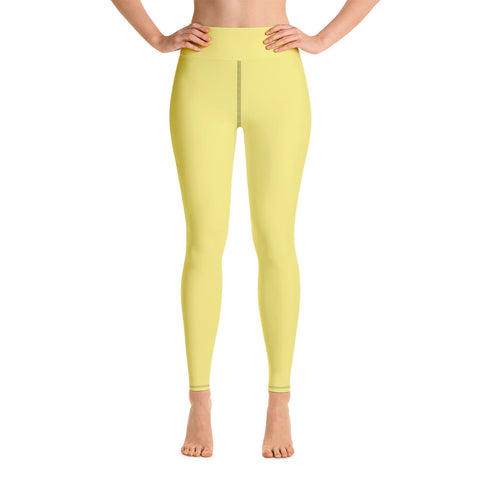 Yoga Leggings Lemon Yellow.