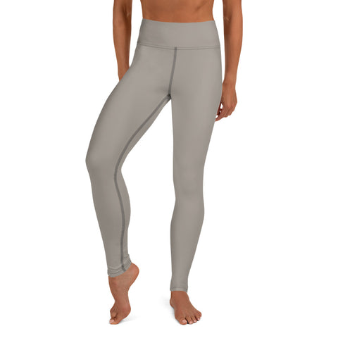 Yoga Leggings Medium Gray.