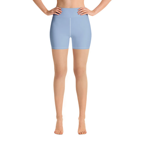 Yoga Shorts Cerul Blue.