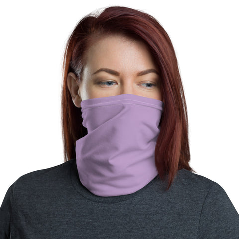Neck Gaiter Light Violet.