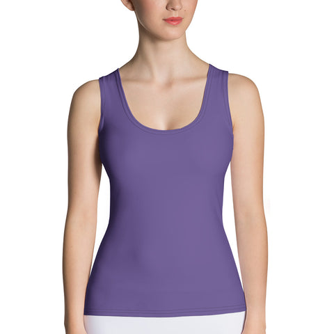 Sublimation Cut & Sew Tank Top Ultra Violet.