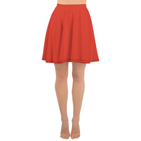 Skater Skirt Fiesta Red.