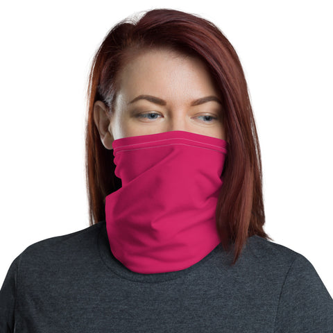 Neck Gaiter Rubin Red.