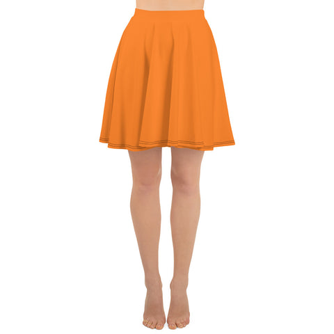Skater Skirt Turmeric Orange.