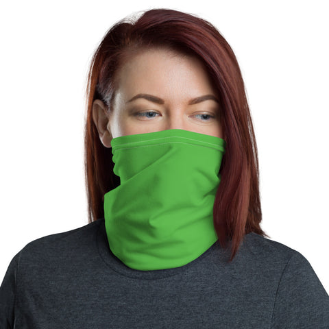 Neck Gaiter Intense Green.