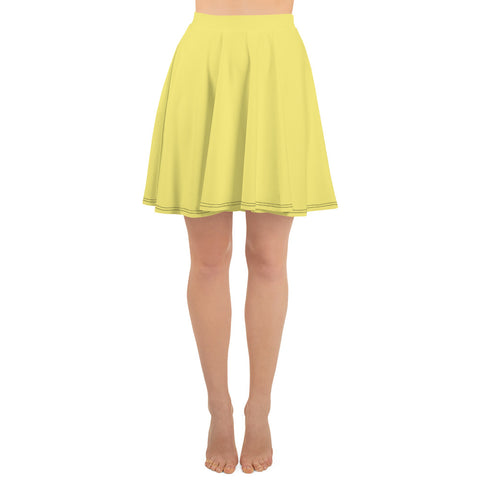 Skater Skirt Lemon Yellow.