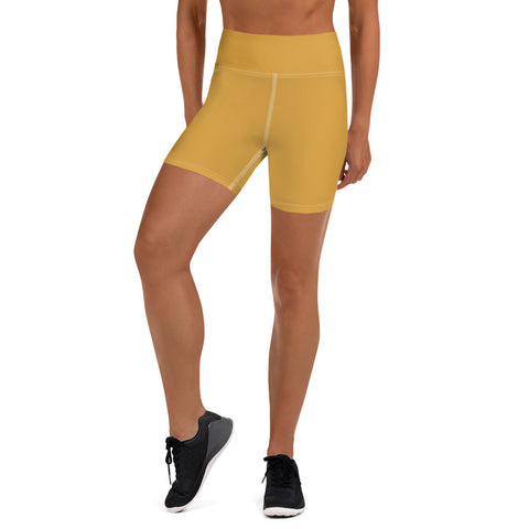 Yoga Shorts Mango Yellow.