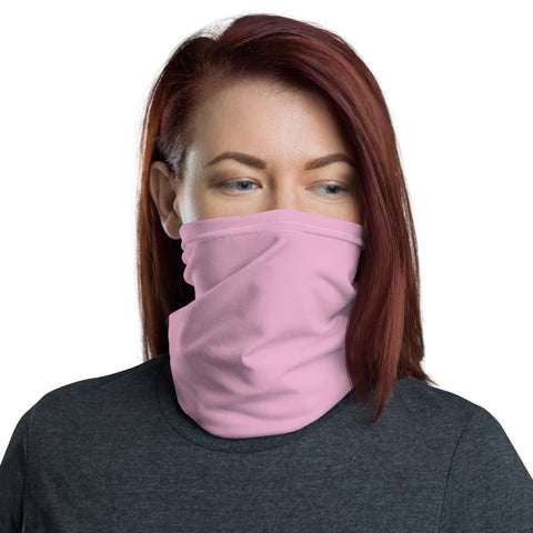Neck Gaiter Light Magenta.