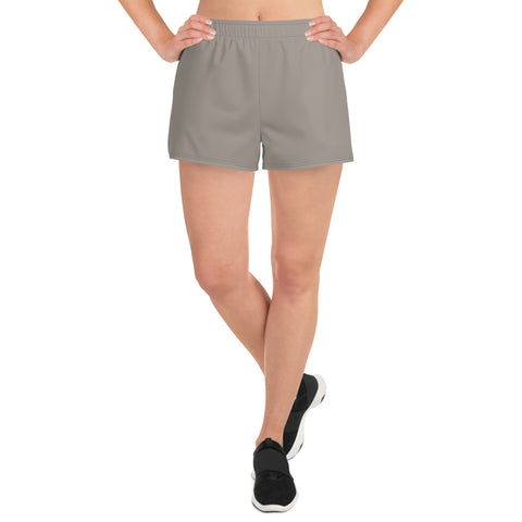Women's Athletic Short Shorts Medium Gray.