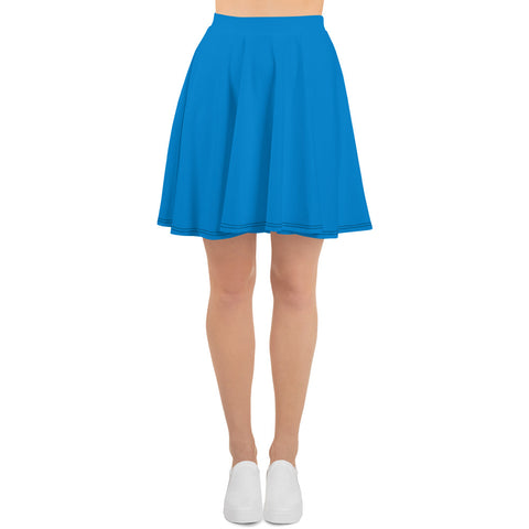 Skater Skirt Medium Blue.